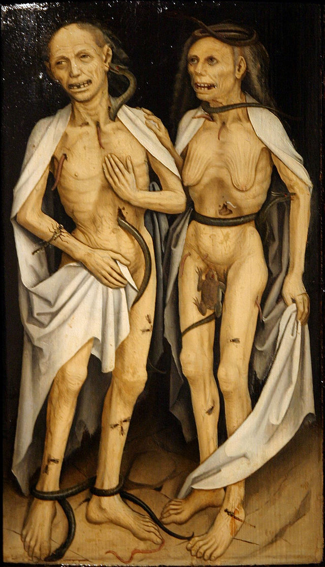Image of zombies in Medieval art