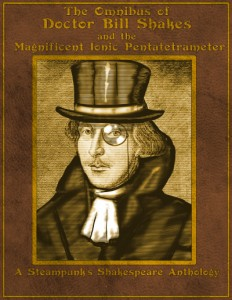 "Copies of Scott's book ""Steampunk Shakespeare"" will be available for sale, signed by the author, at each First Folio talk."